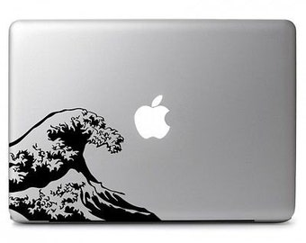 Wave MacBook Air Decal