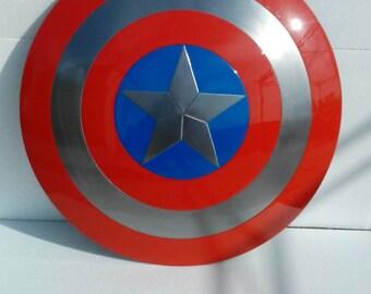 Replica captain america shield real size..all iron!
