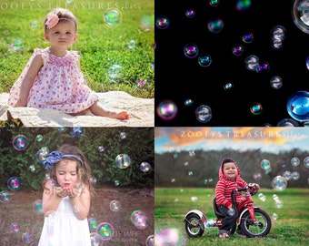 77 Bubble Overlays by Hoppman Photography