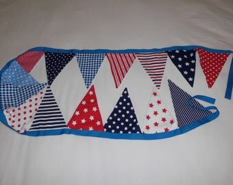 Spots and Stripes bunting for boys