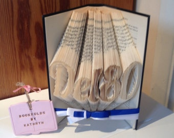 5 letters Name bookfold