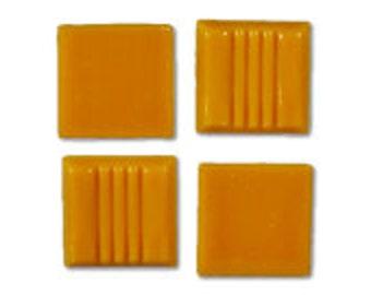 Citrus Glass Tile 20mm, Quantity of 50 Tiles, Mosaic Tile Supplies