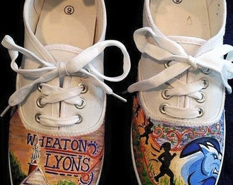 Custom College Canvas Shoes
