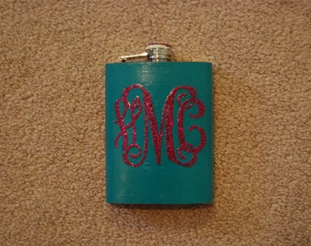 Personalizied Painted Flasks