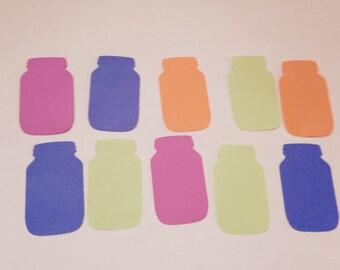 Mason Jar Confetti, Table Top Confetti, Mason Jar Decoration Mason Jar Theme, Gift Tag, Place Card,Scrap booking,Mason Jar Lover 100 pieces,