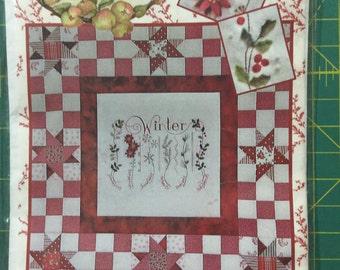 Destash - Winter Sampler Kit - Wall Hanging