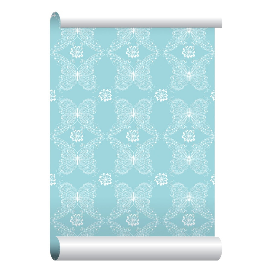Self adhesive removable wallpaper butterfly maze wallpaper for Wallpaper with adhesive backing