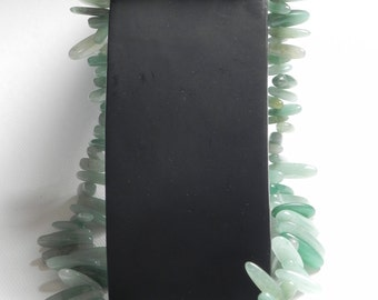 Aventurine stone necklace