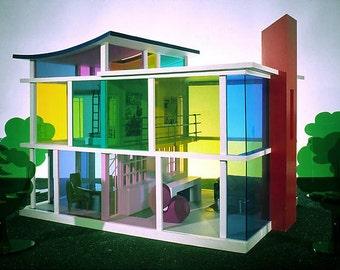 The Kaleidascope House Dollhouse