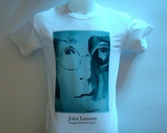 The Beatles T Shirt-John Lennon