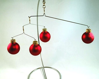 Miniature Kinetic Christmas Mobile
