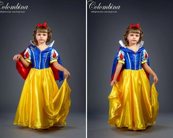 """Girls carnival costume """"Snow White"""", girl Snow White dress, Disney, art. 478"""
