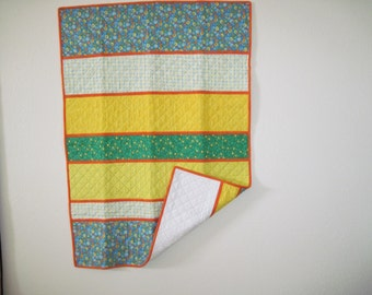 Reversible Flannel Baby Quilt