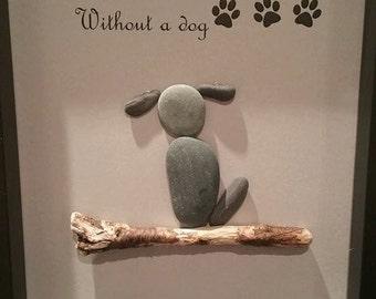 Pet pebble art
