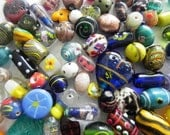 lampwork glass beads Supplies - Awesome  wholesale beads ONE Pounds SUPER DELUX lampwork beads mix  handmade