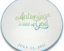 Child of God Baptism Personalized Signature Plate