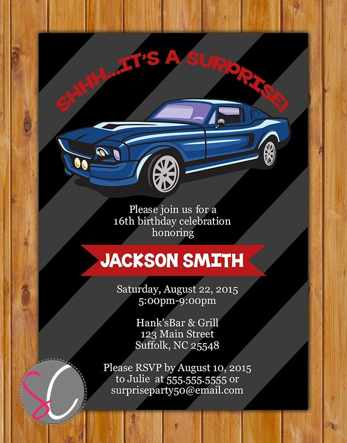 Muscle Cars Birthday Decorations Image Inspiration of Cake and