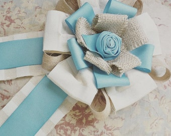 Vintage Style Rosette Award Ribbon - Your Choice of Colors Prize Ribbon