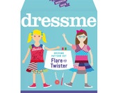 Dressme Pattern Set - Flare & Twister Dresses - Sizes 2-6
