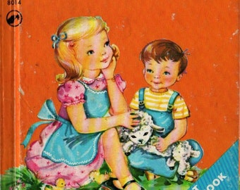 Prayers For Little Children a Rand McNally Religious Book - Mary Alice Jones - Suzanne Bruce - 1949 - Vintage Book