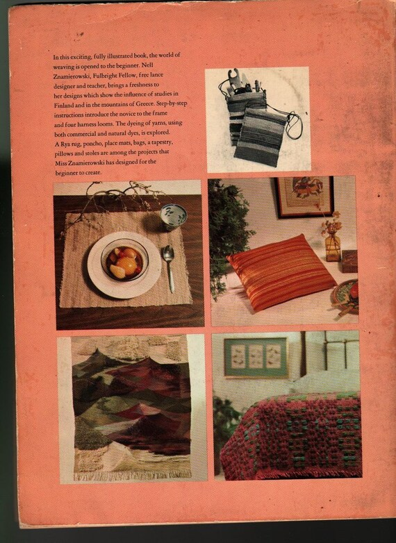 Step-by-Step Weaving - Nell Znamierowski - 1967 - Vintage CraftBook