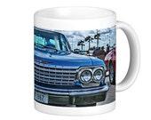 1962 Chevrolet Impala Coffee Mug, Coffee Mug, Muscle Car Mug, Car Guy Mug, Car Mug, HotRod Art, Hot Rod Art, Classic Car Mug, Gifts for Men