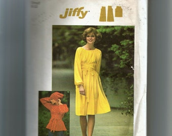 Simplicity Misses' Dress or Top and Scarf Pattern 7169