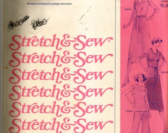 Stretch & Sew Basic Dress and Blouse Pattern 1505