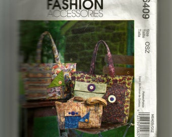 McCall's Bags Pattern M6409