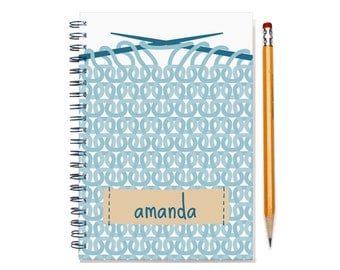 2017 Personalized Planner for a Knitter, Customizable Agenda Planner, Knitting Diary, Knitting Enthusiast Gift Idea, SKU: pli knitting