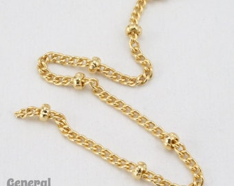 2mm Bright Gold Satellite Chain #CCA210