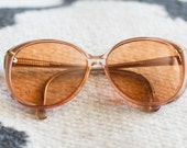 Vintage Viva Eyeglasses Womens Eyewear 1970s Bug-eye Glasses