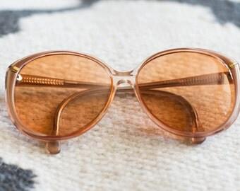 SUMMER SALE Vintage Viva Eyeglasses Womens Eyewear 1970s Bug-eye Glasses