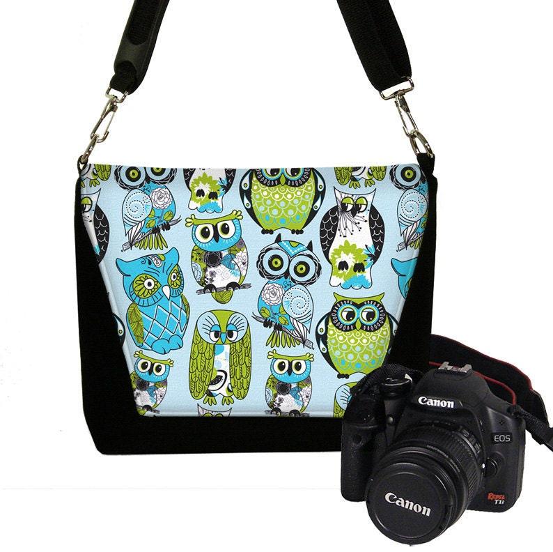 Creative Womens Padded DSLR Camera Bag Slr Camera Bag Purse Messenger Bag (Matu2026