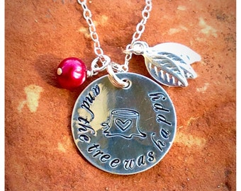 Sterling Silver Giving Tree Necklace