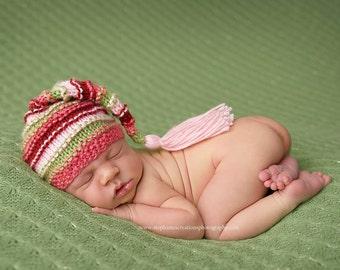 Berry Sweet - Bumpy Tassel Stocking Hat