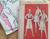 Vintage Sewing Pattern - Anne Adams Pattern Company, 4606, size 20.5, bust 43