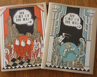 Cult of the Ibis comic parts 1 & 2, 2 books