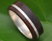 Wood Ring - Solsticio Nacascolo - ecofriendly wood wedding band, mens wedding band, wood wedding ring