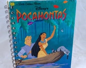 Pocahontas Upcycled Blank Journal