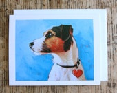 Jack - Jack Russell Terrier Greeting Card