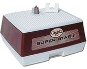 "Glastar G12 SUPER STAR II Stained Glass Grinder 1/4 & 3/4"" bits, 5 Year Warranty"
