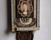 "SHADOW BOX   - Assemblage Art - ""At the Ballet"" #1280"