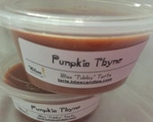 PUMPKIN THYME - Two 2 oz Bliss Soy Tubby Tarts