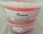 PLUMERIA - Two 2 oz Bliss Soy Tubby Tarts
