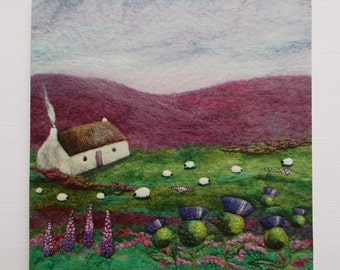 Thistle Cottage Printed Greetings Card