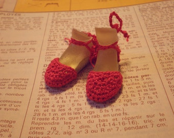 Enchanted Doll Espadrilles in Red