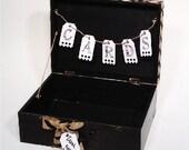 Wedding Card Box, Rustic Wedding,Gift card Box Rustic Box , Suitcase style Wedding Gift, Graduation Card Box, Birthday, Rustic Card Box,