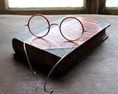 Round Celluloid Eyeglasses by American Optical c1917