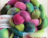 100g Hand Dyed Top Collection - ROSEMOOR BFL (pre order)